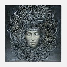 Medusa Cyborg Tile Coaster