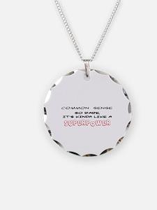 Unique Common sense Necklace