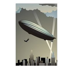 Zeppelin Skyline Postcards (Package of 8)