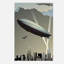 Zeppelin Skyline Postcards (Package of 8)