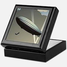 Zeppelin Skyline Keepsake Box