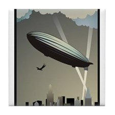Zeppelin Skyline Tile Coaster