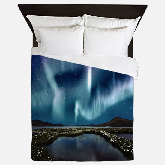 Northern Lights Queen Duvet