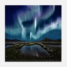 Northern Lights Tile Coaster