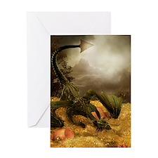 Dragon Treasure Greeting Card