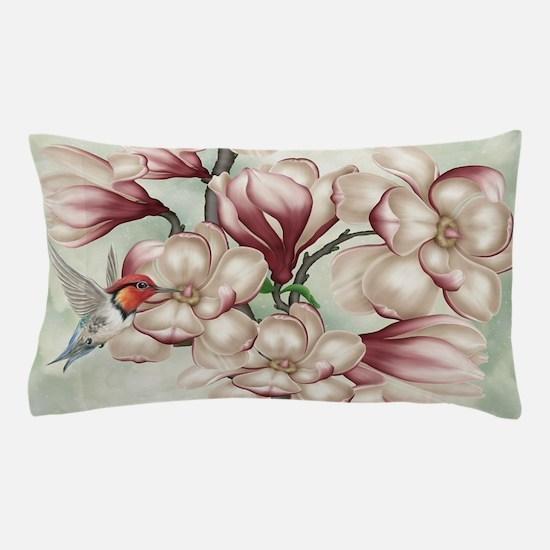 Magnolia Colibries Pillow Case
