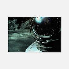 Cosmonaut Outlook Rectangle Magnet