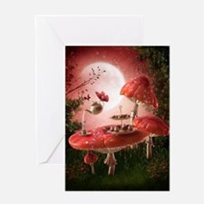 Surreal Tea Party Greeting Card