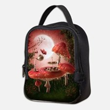 Surreal Tea Party Neoprene Lunch Bag