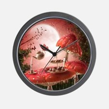 Surreal Tea Party Wall Clock