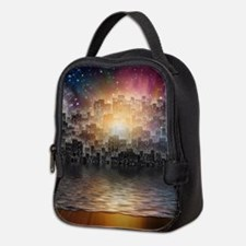 Mega City Neoprene Lunch Bag