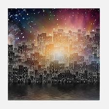 Mega City Tile Coaster