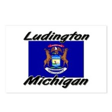 Ludington Michigan Postcards (Package of 8)
