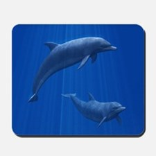 Dolphin Couple Mousepad
