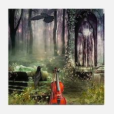 Gothic Dreamland Tile Coaster