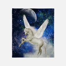 Pegasus Universe Throw Blanket
