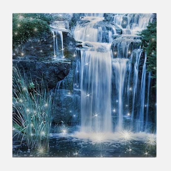 Magic Waterfall Tile Coaster