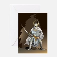 Crusader Knight Greeting Card