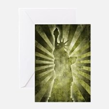 Liberty Statue Greeting Card