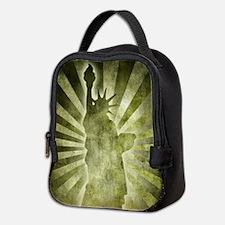 Liberty Statue Neoprene Lunch Bag