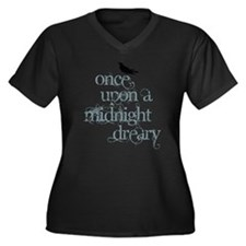 Cute Edgar allen poe Women's Plus Size V-Neck Dark T-Shirt