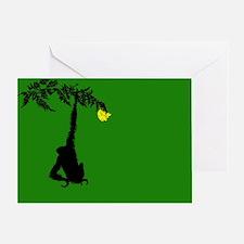 Funny Hang greeting Greeting Card