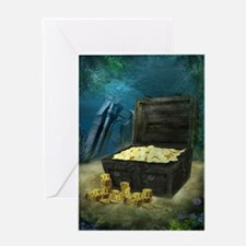Treasure Chest Greeting Card