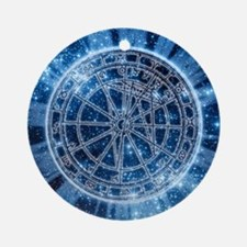 Mystical Zodiac Round Ornament