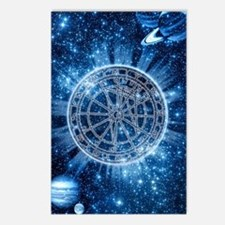 Mystical Zodiac Postcards (Package of 8)