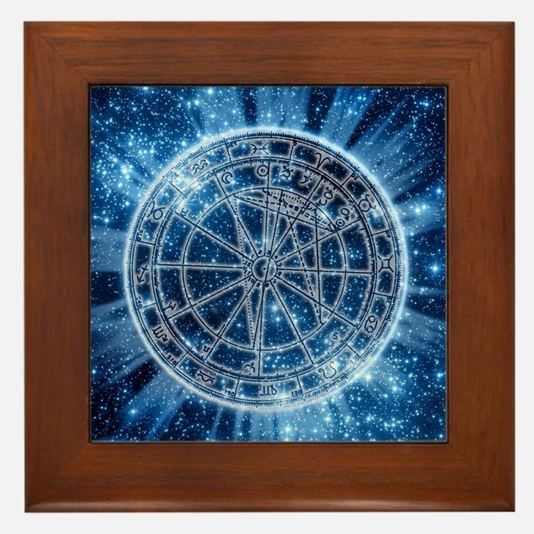 Mystical Zodiac Framed Tile