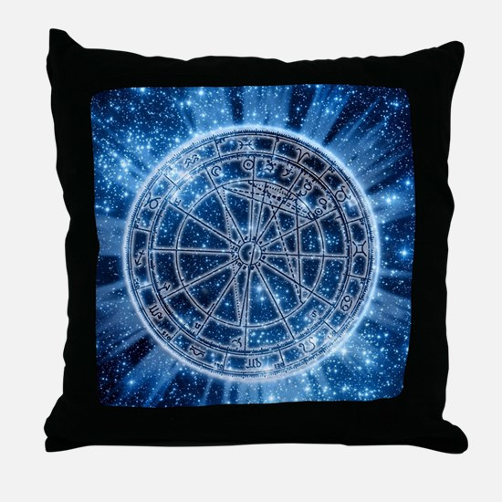 Mystical Zodiac Throw Pillow
