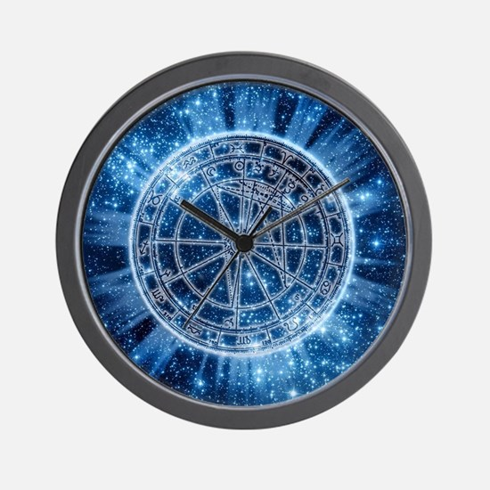 Mystical Zodiac Wall Clock