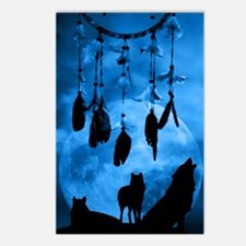Dreamcatcher Wolves Postcards (Package of 8)