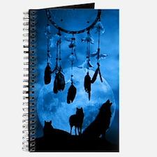 Dreamcatcher Wolves Journal
