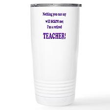 Funny Teacher retirement Travel Mug