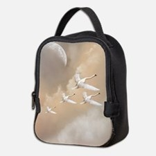 Flying Swans Neoprene Lunch Bag