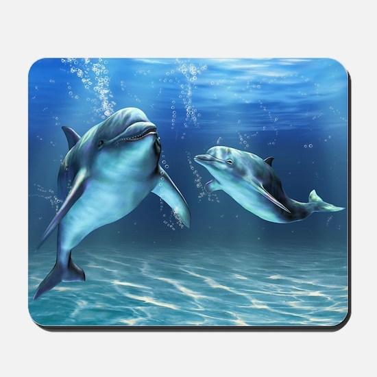 Dolphin Dream Mousepad