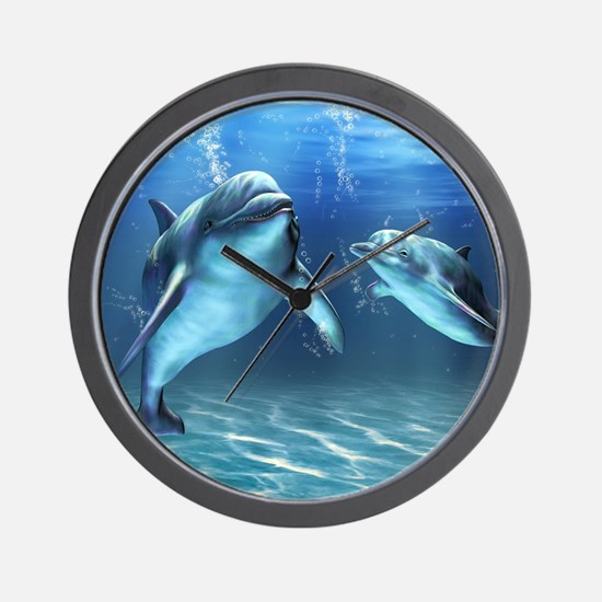 Dolphin Dream Wall Clock