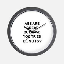 Cute Donuts Wall Clock
