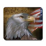 American flag Classic Mousepad