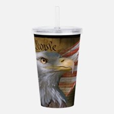 We The People Acrylic Double-wall Tumbler