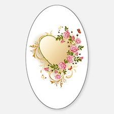 Victorian Heart Decal