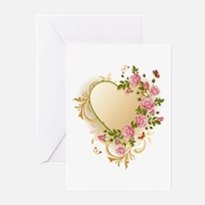 Victorian Heart Greeting Cards (Pk of 20)