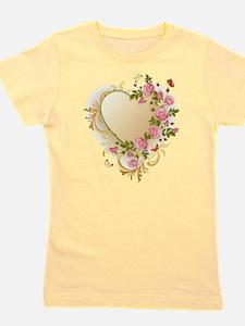 Victorian Heart Girl's Tee