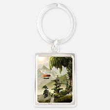 Giant Willow Fantasy Portrait Keychain