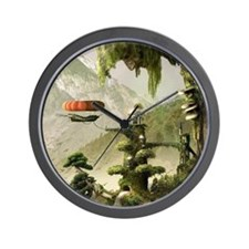 Giant Willow Fantasy Wall Clock