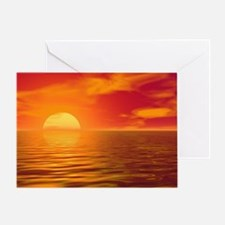 Dawn and Dusk Greeting Card