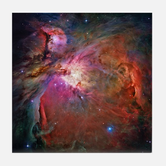 Orion Nebula Tile Coaster