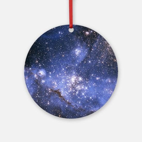 Magellan Nebula Round Ornament