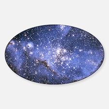 Magellan Nebula Sticker (Oval)